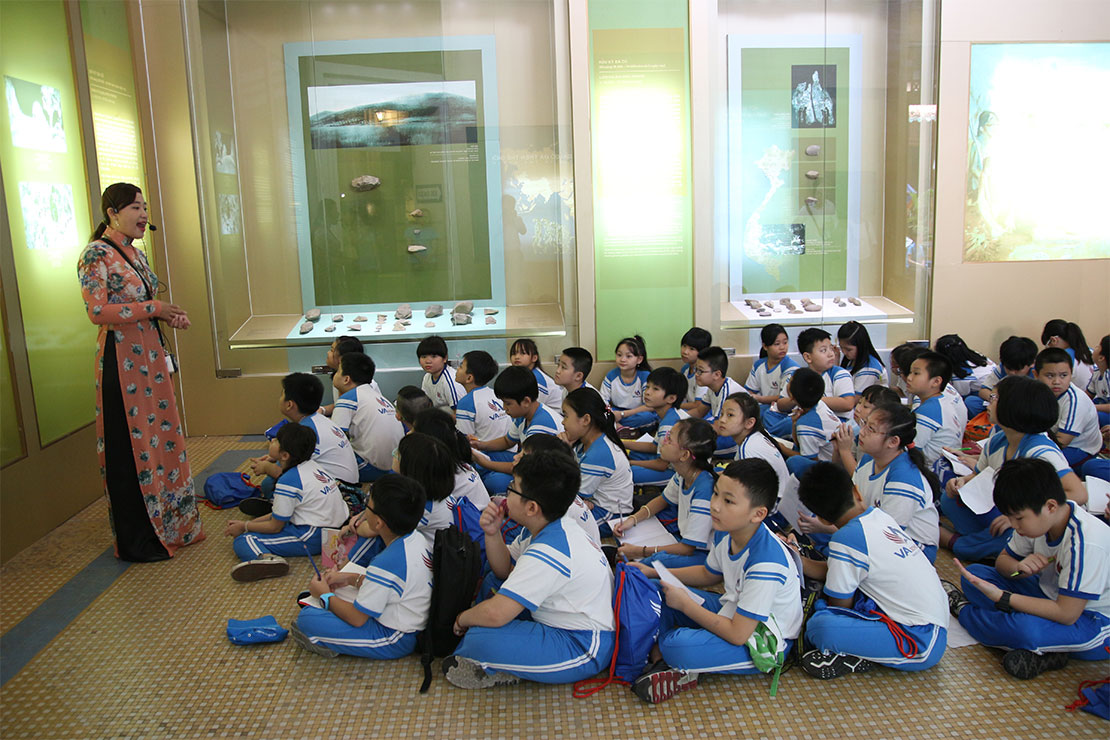 A History Class at the Museum
