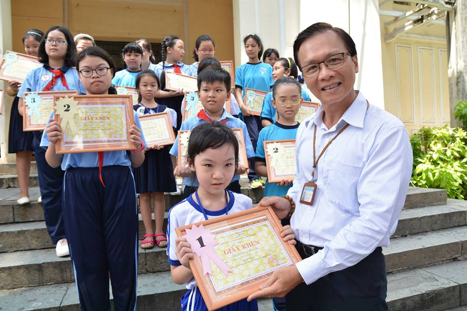 "Drawing competition ""Prouded of Dai CoViet nation through the drawing of childhood"""
